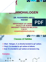 Organohalogen Notes