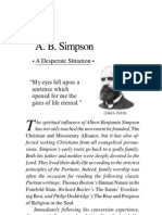 A Desperate Situation - A. B. Simpson