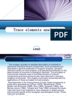 Trace Elements Analysis