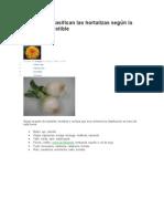 Cómo se clasifican las hortalizas según la parte comestible.doc