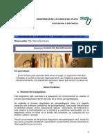 Programa de Catedra - Diagnostico Psicopedagogico I