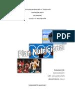 Plan Nutricional.