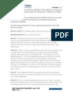 Warren Buffett Sun Valley Transcript, July 12, 2012