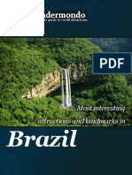 Landmarks and attractions of Brazil