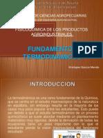 Fundamentos Termodinamicos - Kristoper Garcia Mendo