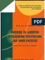 Initiere in Auditul Situatiilor Financiare Ale Unei Entitati Marin Toma 2009 PdfTK