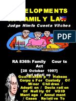Developments in Family Law1 - Justice Vilches