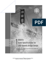 AASHTO Guide Specifications for LRFD Seismic Bridge Design - AASHTO (1Ed 2009)