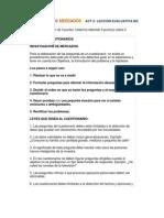 INVESTIGACIÓN DE MERCADOS ACT 7-8-LECCIÓN