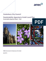 2013-04 Local Plan Draft Sustainability Appraisal