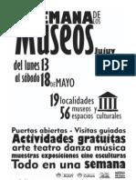 Programa Semana de Los Museos Jujuy 2013 -Imprimible (Blanco y Negro)