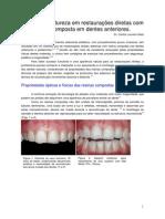 Imitando a Natureza Em Restauracoes Dentes Anteriores