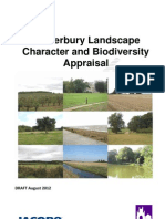 2012-08 Canterbury Landscape Character Biodiversity Appraisal Draft