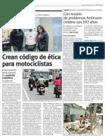 Gente en Positivo Motociclistas