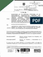 Directiva 001 Del 3 de Mayo de 2013