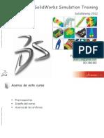 SolidWorks Simulation Training 2012 - Leccion 1