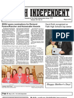 Faith Independent, May 8, 2013