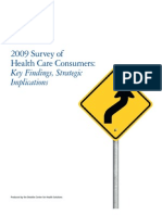 2009 Survey of Health Care Consumers