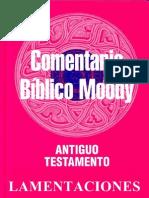 Comentario Bíblico Moody - Lamentaciones