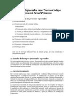Procesos Especiales en el Nuevo Código Procesal Penal Peruano.docx