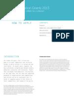 Collaboration Grants 2013 00 Final