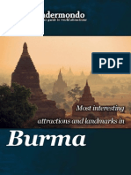 Landmarks and attractions in Burma
