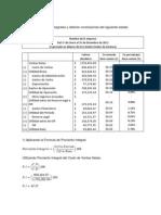 Porciento Integral Factor Constante