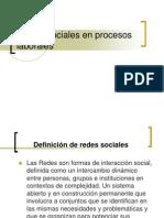 Redes Sociales en Procesos Laborales