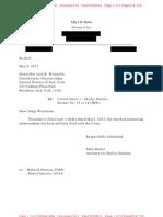 Shirley Huntley Defense Statement