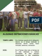 Programa Recreacion - Ponencia.pps