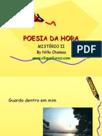 POESIA DA HORA - Mistério II - Versão estática