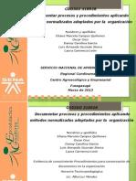 Procedimientos Para Conservacion de Documentos