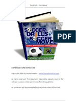 Soccer Drills and Moves