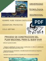 Plan Del Buen Vivir Yesenia Castillo