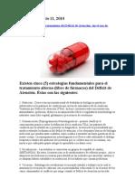 5 Estrategias TDAH Sin Farmacos