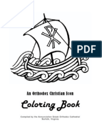 Orthodox Christian Icon Coloring Book