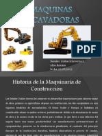 Maquinas  excavadoras