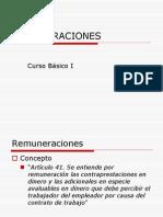 Clase Remuneraciones