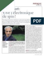 A Fert vive l'électronique de spin.pdf