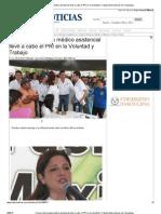 27-04-2013 Concurrida brigada médico asistencial llevó a cabo el PRI en la Voluntad y Trabajo Metronoticias de Tamaulipas