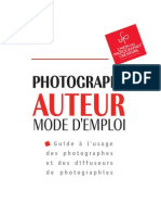 Auteur Photographe