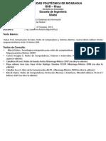 Sílabo Tecnologia de Redes I 2013