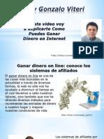 Ganar Dinero on Line Conoce Los Sistemas de Afiliados