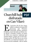 Quim Monzó. Churchill hubiese disfrutado en can Vilaró