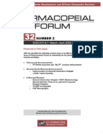 Pharmacopieal Forum Vol32No2