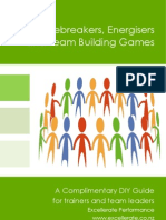 Excellerate Icebreakers Energisers Guide V2012
