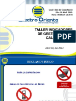10-04-2013 Taller Indicadores de Gestion