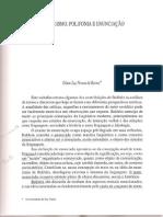 Dialogismo Polifonia Intertextualidade