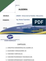 Algebra Presentacion UNESR