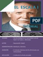 Manual Cattell g
